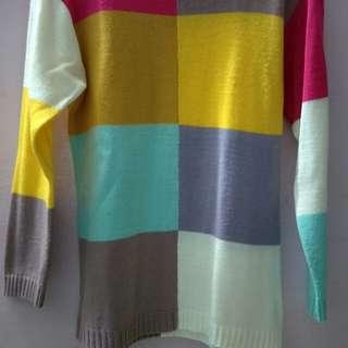 Sweater Pelangi
