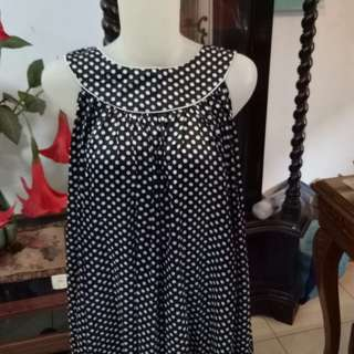Dress babydoll polka