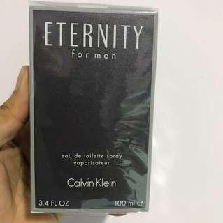 Calvin Klein ETERNITY - 100ml authentic