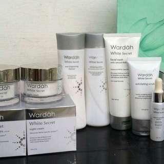 Wardah whitening set