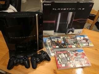 PlayStation PS3 40GB + games