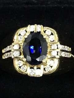 Blue Sapphire Ring