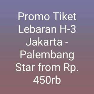 Promo Tiket Lebaran