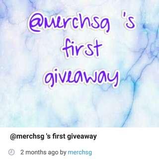 @merchsg giveaway repost