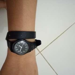 Jam tangan lilit - mirip swatch