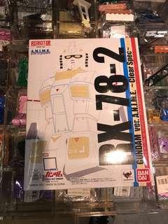 Robot 魂 Rx 78 高達 ACG 透明版 另高價收超合金玩具