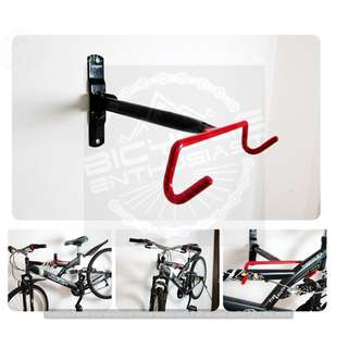 Horizontal Wall Mount Bike Hanger Bicycle Hanger