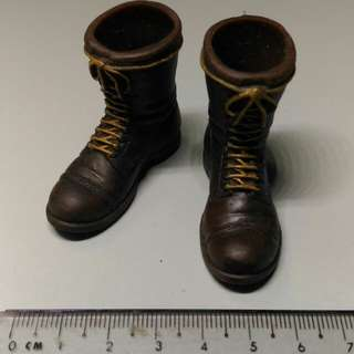 1/6 Scale Brown Boots