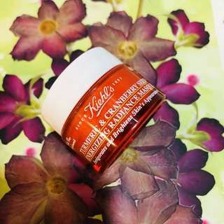 Kiehl's Tumeric and Cranberry Sees Mask 14ml.