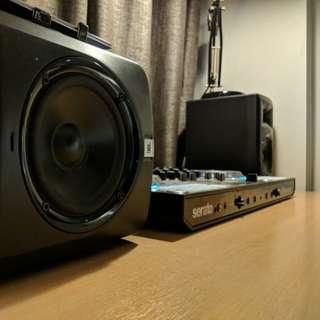 DDJ-SX2 + JBLs speakers