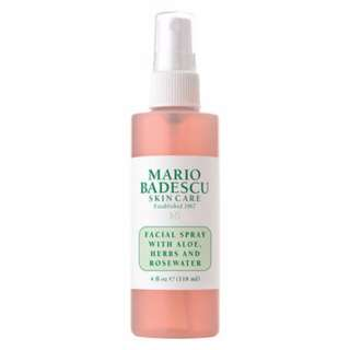 (118ml) MARIO BADESCU 玫瑰蘆薈保濕噴霧定妝噴霧 Facial Spray With Aloe, Herbs & Rosewater