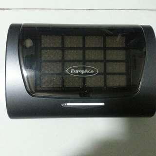 Europe car air purifier model no epu1101s no box.+ free new air filter