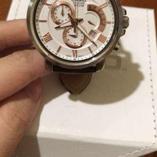 Casio 啡皮帶手錶