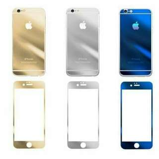 Iphone 6 Steel Full Cover Film Gold only