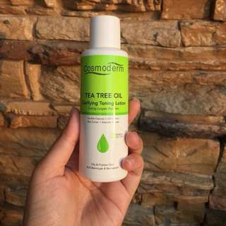 Cosmoderm Tea Tree Oil Clarifying Toning Lotion