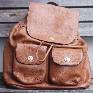 Coach Women's Backpack in Brown