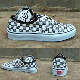 Vans authentic x supreme black/white