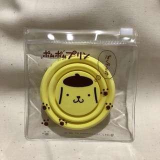 🚚 小日本 三麗鷗經典卡通人物 布丁狗 造型 伸縮餐具水杯 隨身攜帶水杯