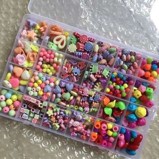 Children handmade beads
