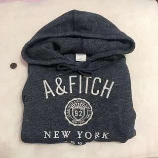 正品 AF Abercrombie 帽T XS