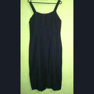 Dress hitam thank top