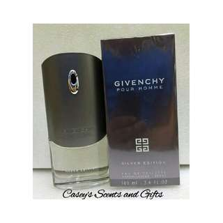 GIVENCHY SILVER EDITION POUR HOMME
