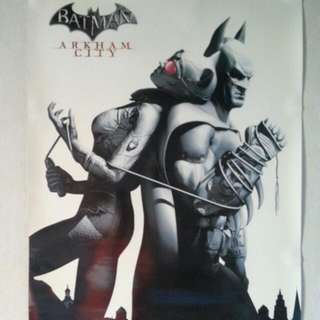 Batman Arkham City A2 Size Poster