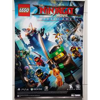 Lego Ninjago Movie A2 Size Poster