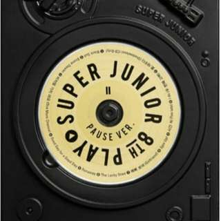 SUPER JUNIOR PAUSE VERSION ALBUM WITH POSTER PREORDER FREE SHIPPING