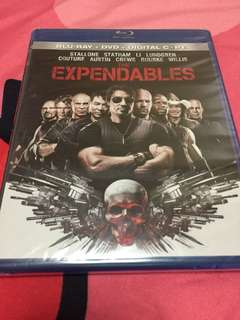 Expendables Blu Ray