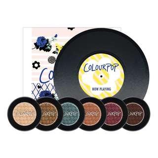 <30% SALE> Colourpop Never Not Chillin Super Shock Eyeshadow Set
