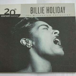 Music CD: Billie Holiday–The Best Of Billie Holiday