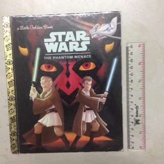 Starwars The Phantom Menace - A Little Golden Book