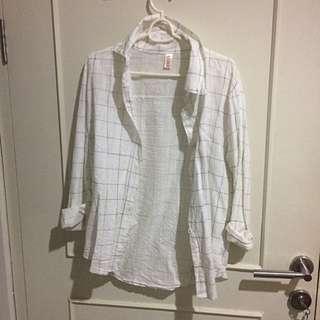 White Liner Shirt
