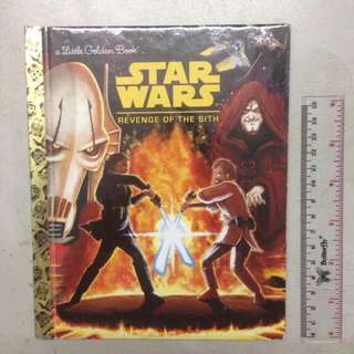 Starwars Revenge Of The Sith - A Little Golden Book