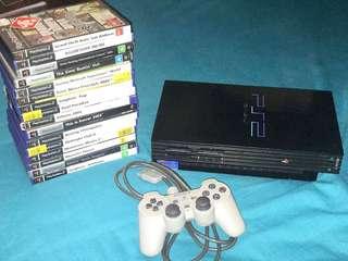 Black PlayStation 2