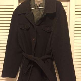 Old Navy Wool jacket with belt