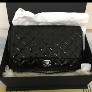 Classic Chanel single chain bag 經典款漆皮單鏈手袋