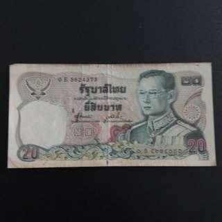 Thailand Money Thb 20