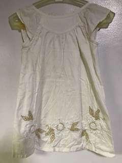 White Summer Dress 3T