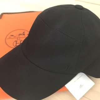 Hermes 黑色百搭棒球帽