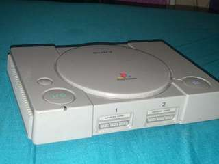 Grey PlayStation 1 Console