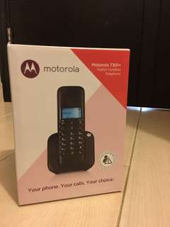 Motorola digital cordless phone T301+(brand new) 全新室內無線電話