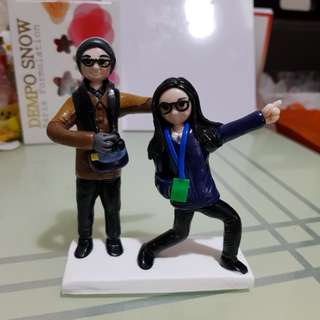Customised figurines polymer clay