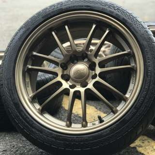 Re30 16 inch sports rim iriz tyre 70%. Pergi pasar taman padi, bross call satu kali kita kasi harga jadi!!!