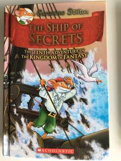 Geronimo Stilton: The Ship of Secrets