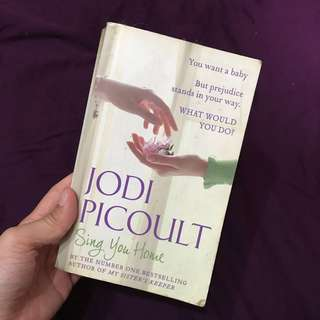 Jodi Picoult - sing you home love inspirational book