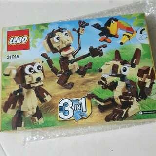 BN Lego Creator Animal Set