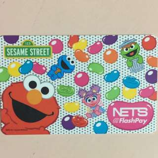 Limited Edition brand new Sesame Street Elmo Design Nets Flash Card For $13.90.