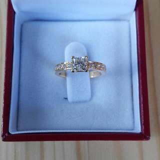 Brian Gavin AGS Ideal Diamond Ring